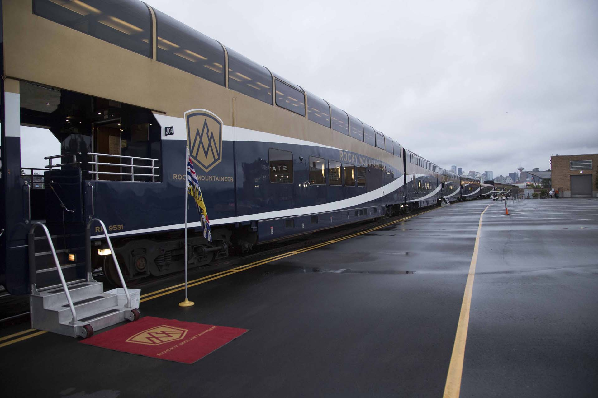 All aboard Rocky Mountaineer