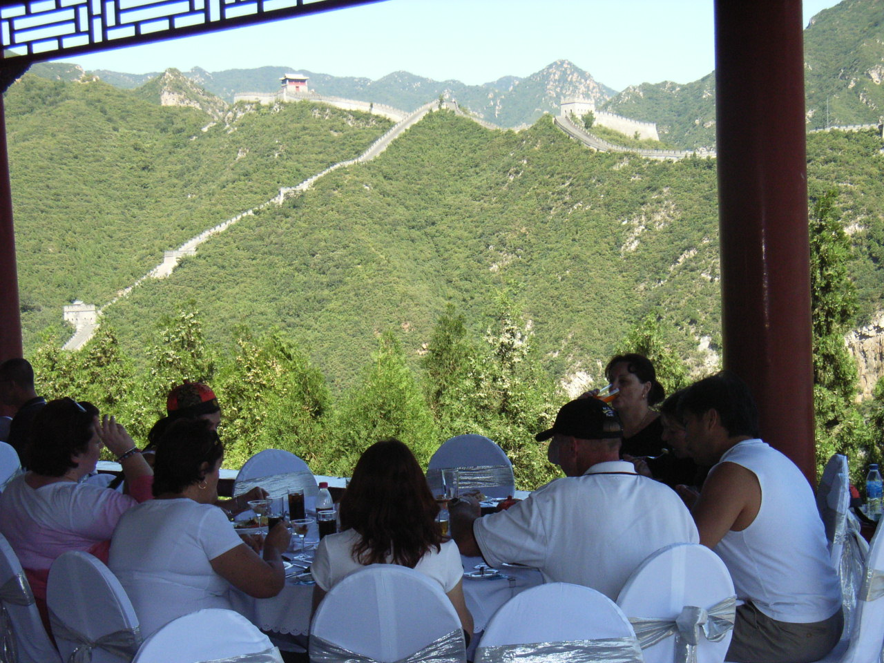 Lunch on the Great Wall