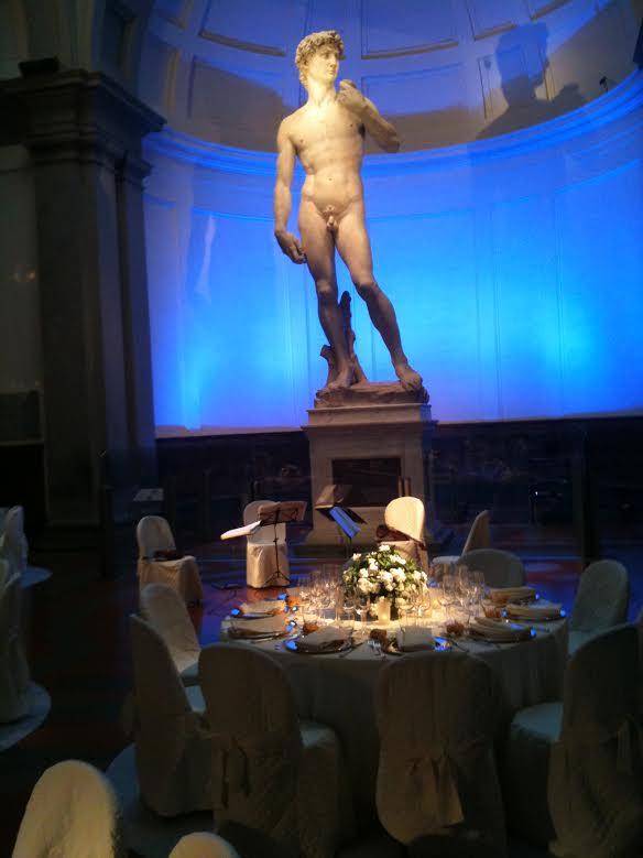 Gala Dinner - Accademia Florence